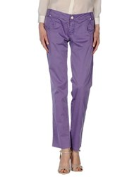 Entre Amis Trousers Casual Trousers Women Mauve