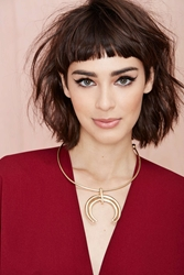 Nasty Gal Moon Swoon Necklace