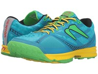 Newton Running Boco At Ii Sky Blue Green Women's Shoes
