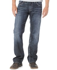 Silver Jeans Zac Relaxed Fit Straight Leg Jeans Dark Wash