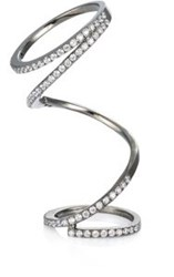 Fallon 'Pave Ribbon' Ring Colorless