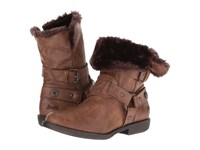 Blowfish Afia Shr Whiskey Old Ranger Pu Women's Pull On Boots Brown