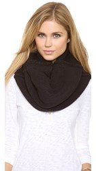 Plush Fleece Lined Neck Warmer Black