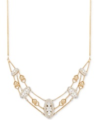 Wrapped In Love Antique Diamond Frontal Necklace 1 1 2 Ct. T.W. In 14K Gold No Color