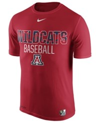 Nike Men's Arizona Wildcats Baseball Legend Team Issue T Shirt Red