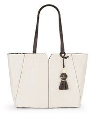 Nanette Lepore Leah Leather Tote Sand