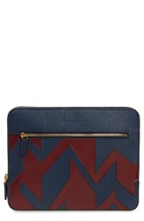 Salvatore Ferragamo Men's Runway Calfskin Leather Portfolio