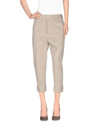 Adele Fado Trousers 3 4 Length Trousers Women Beige