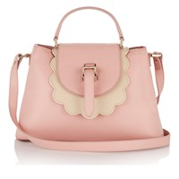 Meli Melo Women's Flavia Scalloped Edged Tote Bag Orchid