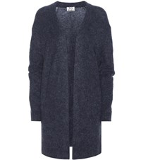 Acne Studios Raya Mohair And Wool Blend Sweater Blue