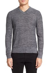 Men's Theory 'Piccard' V Neck Wool Sweater