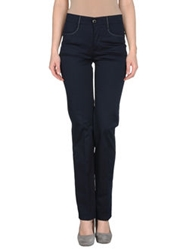 Roccobarocco Casual Pants Dark Blue