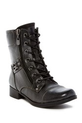 G By Guess Bates Lace Up Boot Black