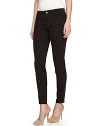 Stella Mccartney Studded Skinny Jeans Black