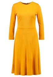 Kiomi Jersey Dress Golden Glow Dark Yellow