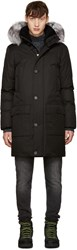 Mackage Black Fox Fur Vaughn Coat