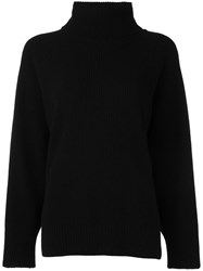 Emporio Armani Turtleneck Jumper Black