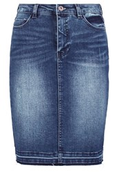 Only Onljessica Denim Skirt Dark Blue Denim Dark Blue Denim
