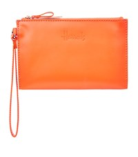 Harrods Signature Leather Travel Pouch Unisex