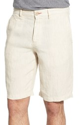 Men's Tommy Bahama 'Line Of The Times' Relaxed Fit Striped Linen Shorts Rope