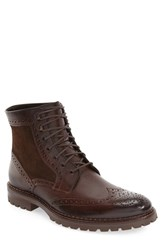 Johnston And Murphy Men's 'Greer' Wingtip Boot Mahogany