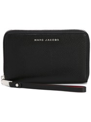 Marc Jacobs 'Wingman' Phone Wallet Black