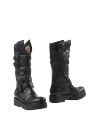 Janet And Janet Boots Black