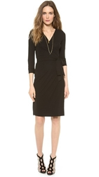 Diane Von Furstenberg New Julian Two Wrap Dress Black