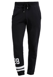 Converse Tracksuit Bottoms Black Optical White