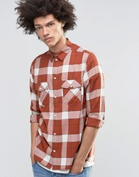 Weekday West Shirt Check Shirt 36 204 08 220 Navy