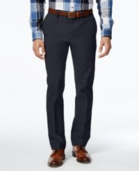 Club Room Men's Big And Tall Flat Front Chinos Prep Navy
