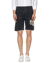 Golden Goose Trousers Bermuda Shorts Men Steel Grey