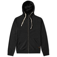 Nudie Jeans Elvin Zip Hoody Black