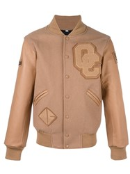 Opening Ceremony Tonal Bomber Jacket Brown