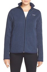 Women's Patagonia 'Better Sweater' Jacket Classic Navy