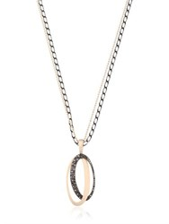 Antonini Black And White Necklace