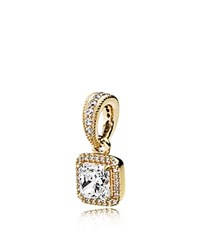 Pandora Design Pendant 14K Gold And Cubic Zirconia Timeless Elegance Moments Collection