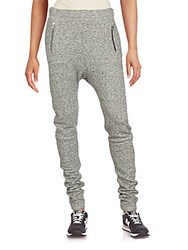Set Cotton And Wool Blend Pants Grey