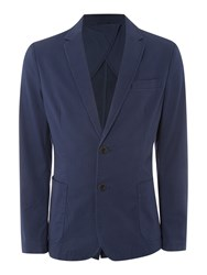 United Colors Of Benetton Men's Long Sleeve Blazer Blue