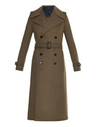 Joseph Military Tweed Trench Coat