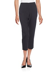 St. John Cropped Trousers Black