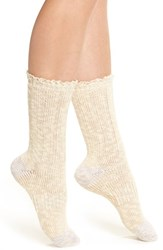 Urban Outfitters Women's Free People 'Melbourne' Boot Socks Ivory Combo