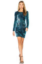 Motel Gabby Dress Blue