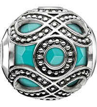 Thomas Sabo Karma Beads Ethnic Sterling Silver Bead