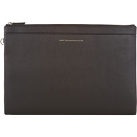 Large Barajas Double Zip Portfolio Black