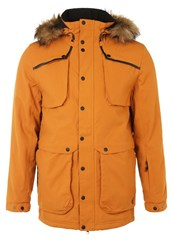 Your Turn Active Snowboard Jacket Pumpkin Spice Orange