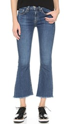 Rag And Bone Crop Flare Jeans Paz