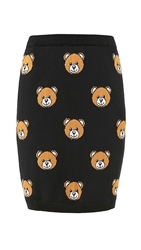 Moschino Printed Knit Skirt Color