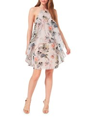 Miss Selfridge Floral Printed Double Layer Shift Dress Multi