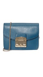 Furla Metropolis Mini Cross Body Bag Blue Cobalt